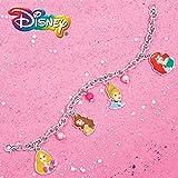 UPD Disney Girls Princess Beaded Charm Bracelet