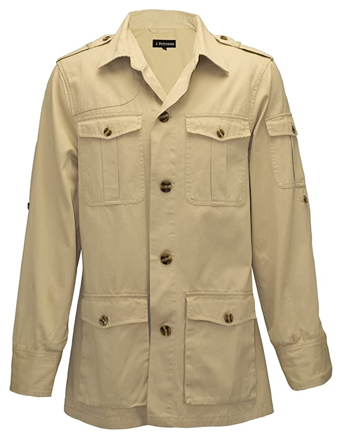 1900s Edwardian Men's Suits and Coats Safari Jacket $171.35 AT vintagedancer.com