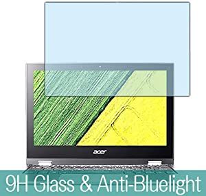 "Synvy Anti Blue Light Tempered Glass Screen Protector for Acer Spin 1 SP111-32N-A14P 11.6"" Visible Area 9H Protective Screen Film Protectors"