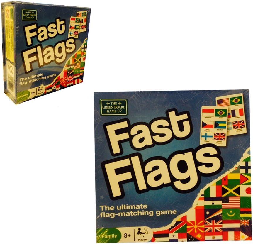Fast Flags - Juego de Mesa de Banderas: Amazon.es: Juguetes y juegos