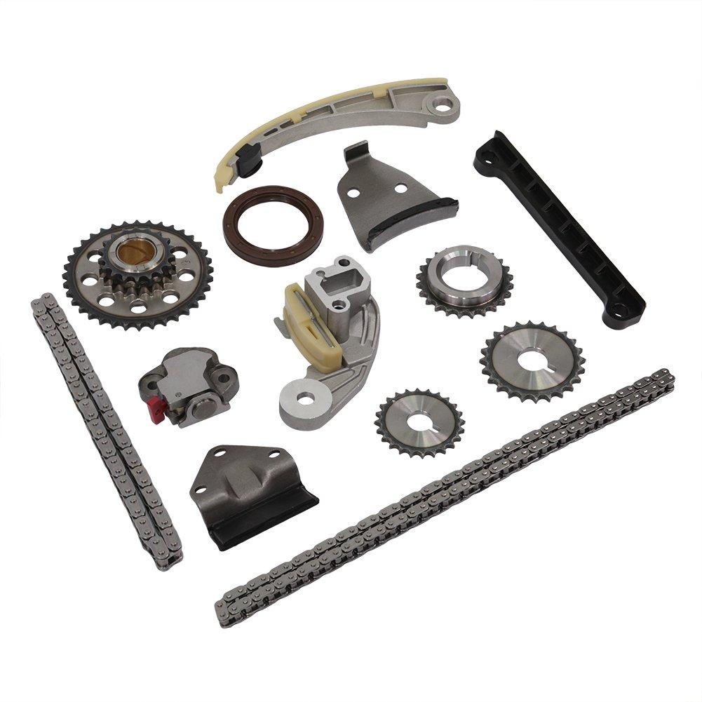 ON SALES! Engine Timing Chain Kit Set TK6068 for Ford F-150 F-250 F-350 Super Duty Lincoln Navigator Mark LT DOICOO