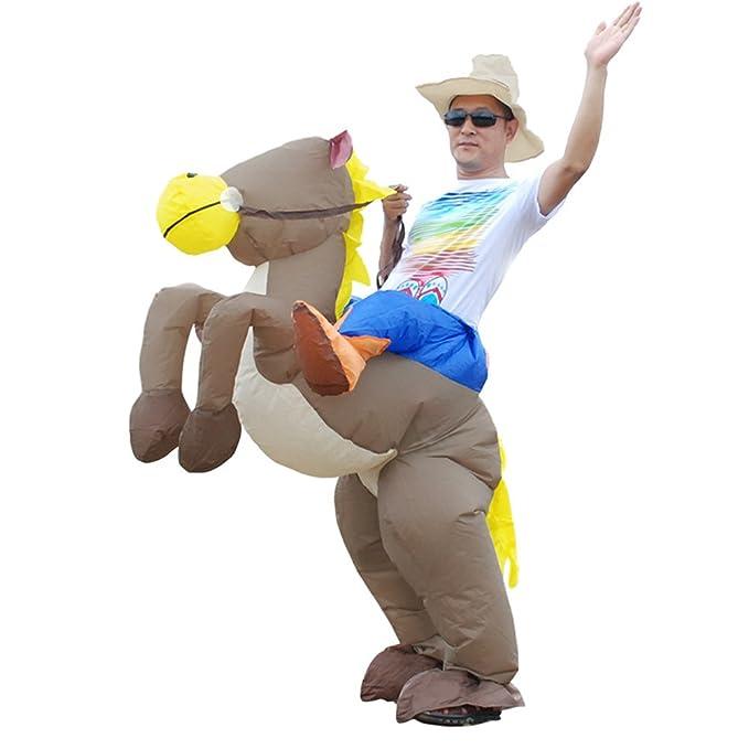 Amazon.com: vantina soporte de traje de disfraz de caballo ...