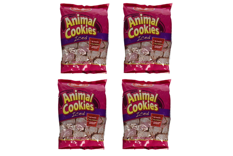 Stauffers Animal Cookies, Iced 14.5 Oz (4 Pack)