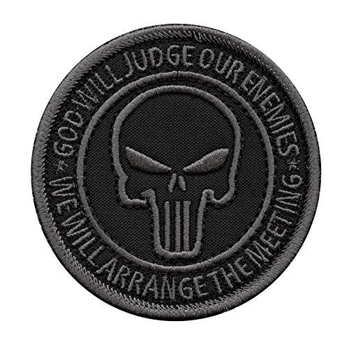 LEGEEON God Will Judge Our Enemies ACU Subdued US Navy Seals DEVGRU NSWDG Morale Touch Fastener Patch