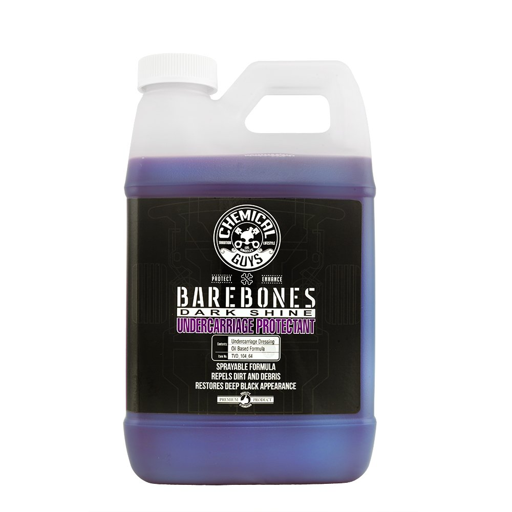 Chemical Guys TVD_104_64 Bare Bones Undercarriage Spray (64oz), 64 fl. oz, 1 Pack