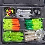 Best Berkley Salmon Flies - 35pcs Plastic Worm Soft Fishing Lure Set + Review