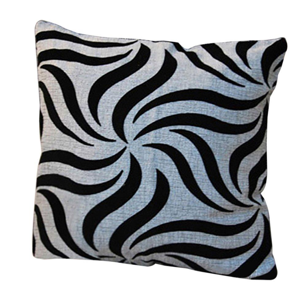 Fashion Plaid Throw Pillow Case Pillowcase Sofa Car Cushion Cover Home Decor - Petal Amesii