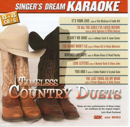 Timeless Country Duets - Karaoke CDG ()