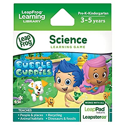 LeapFrog Learning Game: Bubble Guppies: Toys & Games