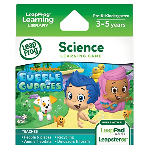 LeapFrog Learning Game: Bubble Guppies (Best Leappad Games For 3 Year Old)