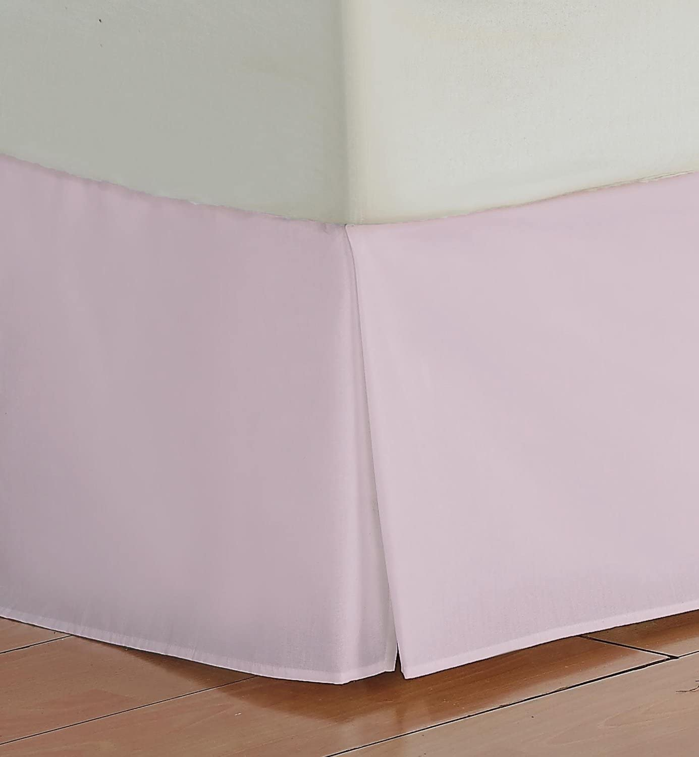 Beautiful Lenin 400 TC 17 Inch Fall Bed Skirt Solid Pattern 100/% Egyptian Cotton All Sizes /& Colors QUEEN, White