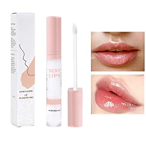 DAGEDA Lip Plumper Pro, Natural Lip Plumper Enhancer and Lip Care Serum for Softer, Smoother, Plumper-looking Lips, Hydrating and Reduce Fine Lines