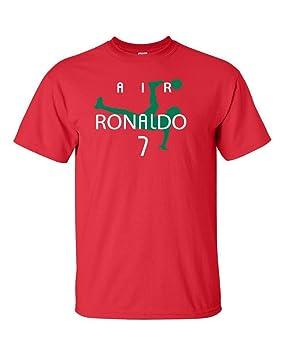 Cristiano Ronaldo Portugal Aire Ronaldo Portugal Camiseta De Manga