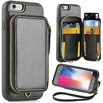 Amazon.com: iPhone 6 Plus Case,iPhone 6s Plus Wallet Case