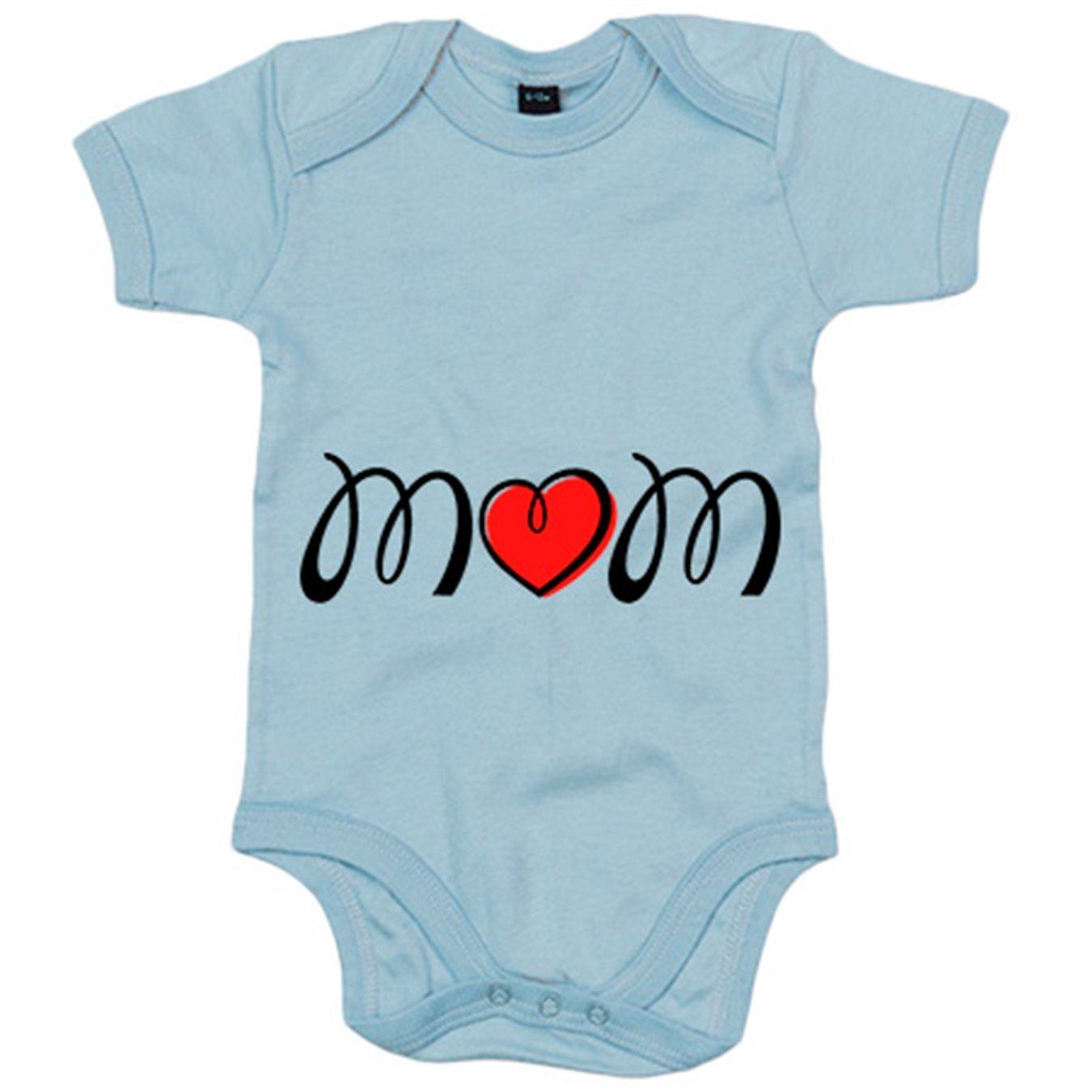 Body beb/é Mom Love amor de madre Amarillo 6-12 meses