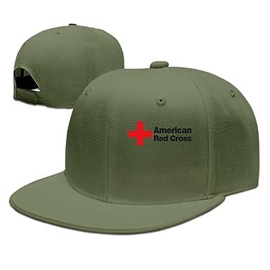 Brecoy Gorras de béisbol Americanas con diseño de Cruz roja ...