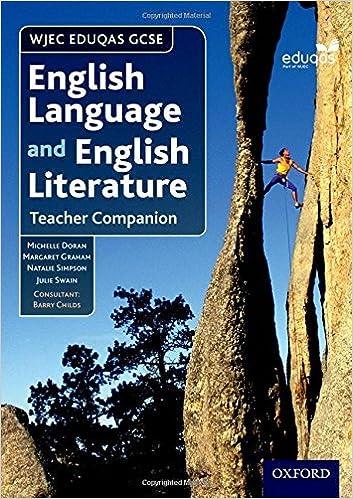 Book WJEC Eduqas GCSE English Language and English Literature: Teacher Companion by Michelle Doran (2015-06-04)