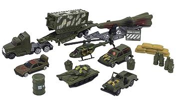 Happy Cherry - (set de 14)Jueguete de Vehículos Militar ...
