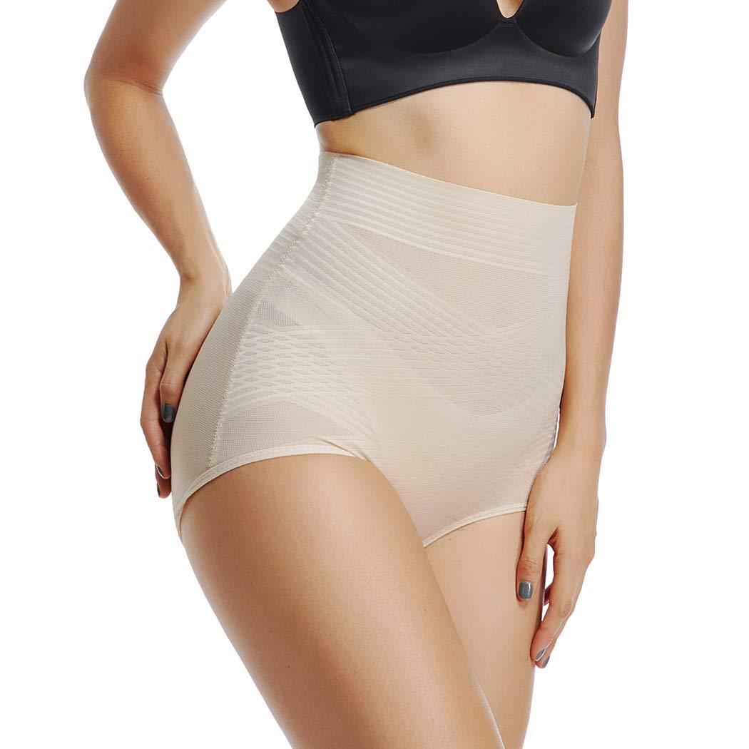 c72332dfaac83 Joyshaper High Waisted Control Knickers Women Slimming Briefs Tummy Waist  Cincher Girdle Trimmer Trainer Butt Lifter Panties Underwear Mesh Body  Shaper ...