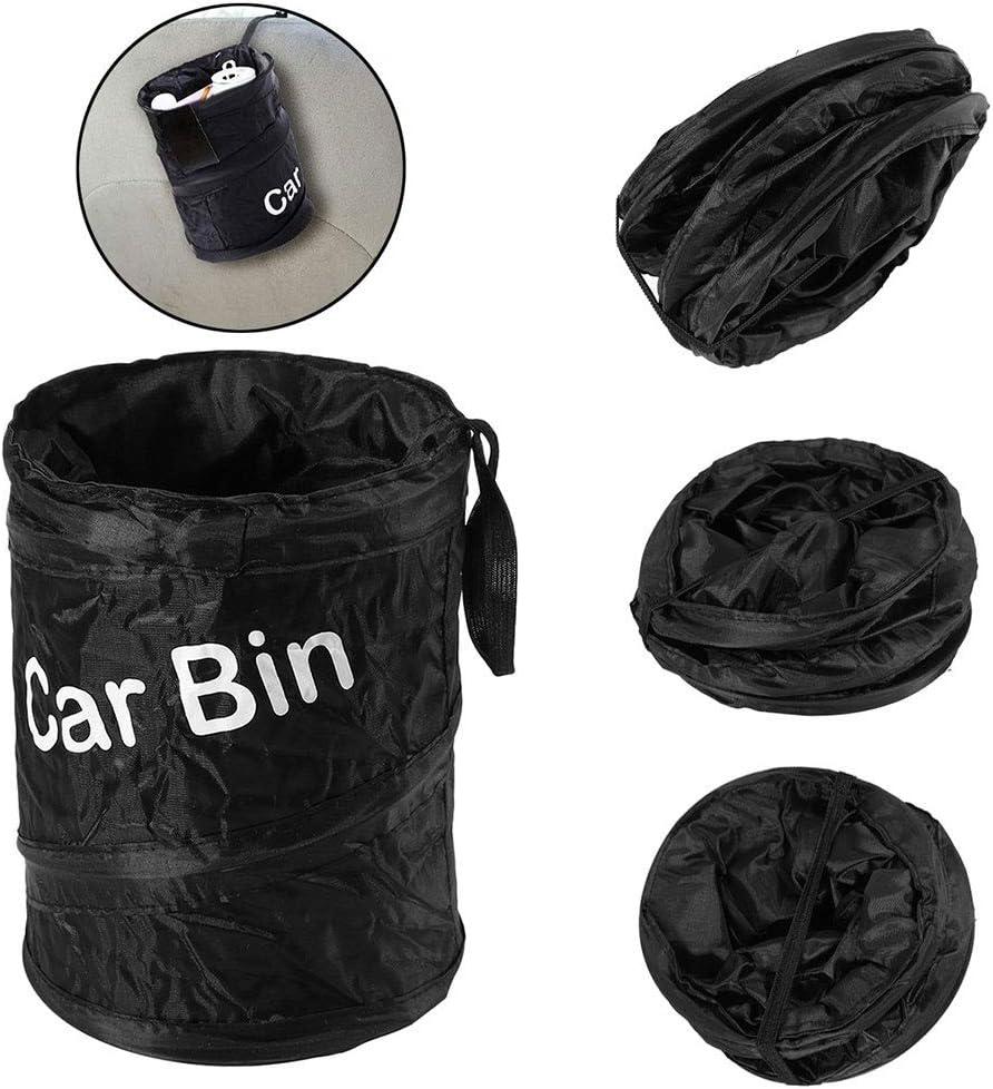 Inicio Car Trash Bin Portable Foldable Automotive Trash Bag Garbage Can Rubbish Bin Litter Can