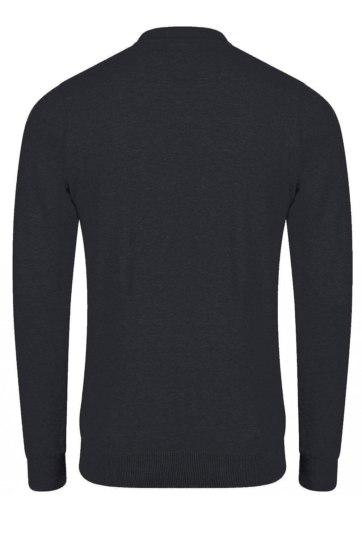 ad324b430 Mens Kensington Eastside Cristian Polo Neck Jumper Soft Cotton Long Sleeved  Top SRG Apparel 1A8494