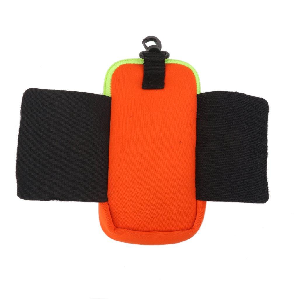 Unbekannt Schutzh/ülle von Telefon Rei/ßverschlussfach f/ür Rucksack