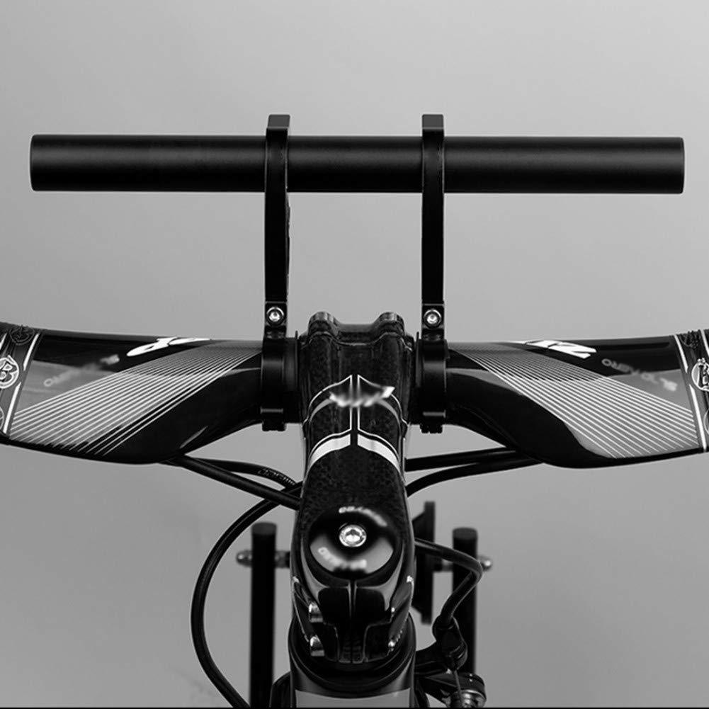 SimpleMfD 20 cm Fahrrad Lenker Erweiterte Halterung Fahrrad Scheinwerfer Taschenlampe Halterung Bar Computer Halter MTB Radfahren Aluminiumlegierung Unterst/ützung Extender
