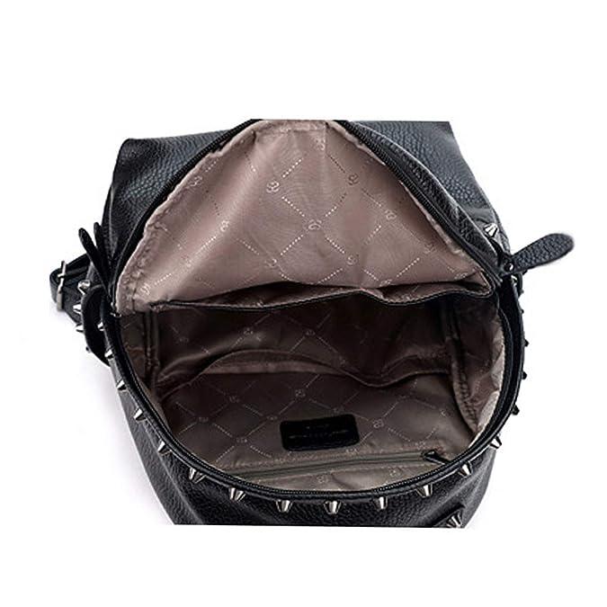 Amazon.com: Women Backpack Pu Leather School Bags Mochilas Mochila Feminina Bolsas Mujer Backpacks Rugzak Back Pack Bag 2018,Black,Small-25x30x12: Shoes