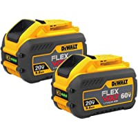 2-Pack DeWalt DCB609-2 FlexVolt 20/60V MAX Li-Ion Battery