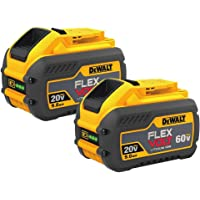 2-Pack DeWalt DCB609-2 FlexVolt 20/60V MAX Li-Ion Battery
