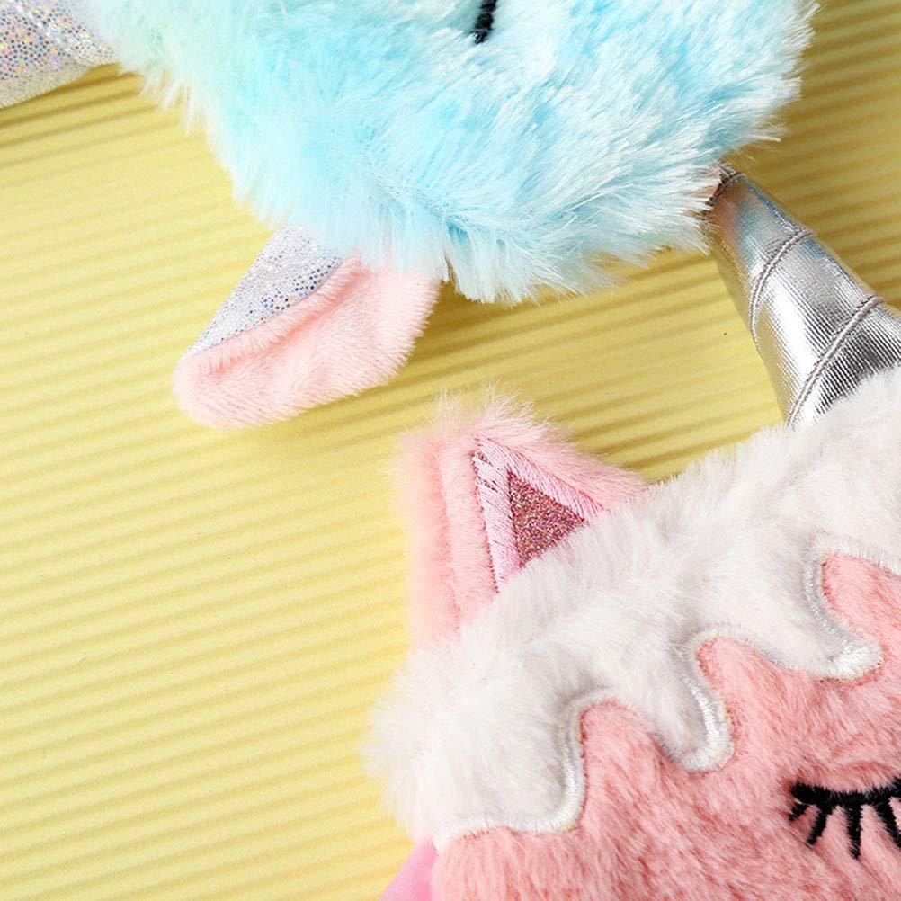 Comtervi Masque de Sommeil Licorne Cache-/œil en Licorne Patch Eye pour Les Yeux Ultra Doux Voyage Masque Masque pour Les Yeux pour la Nuit la Sieste Voyage pour Les Femmes Fille