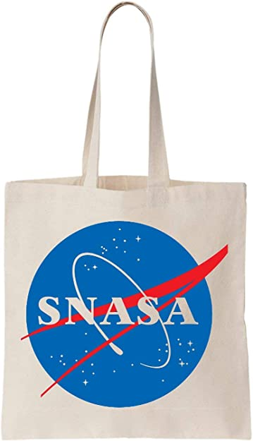 KRISSY Snasa Nasa Algodón Bag Tote Bag: Amazon.es: Zapatos y ...