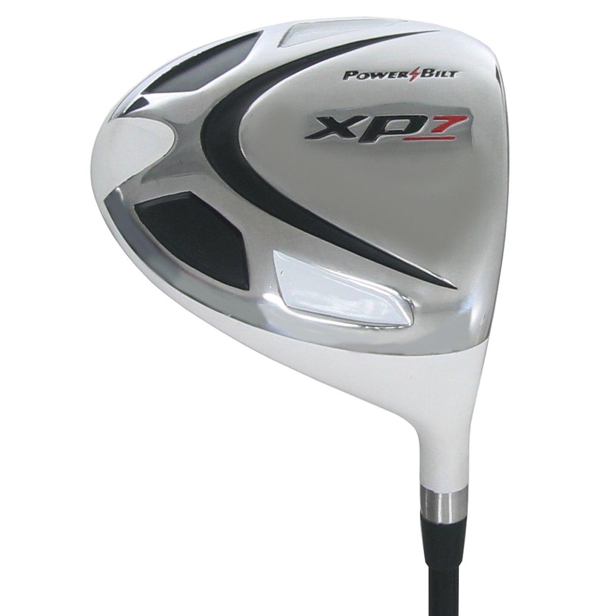 Powerbilt Golf Clubs XP7 White Driver 10.5 Graphite Stiff Flex