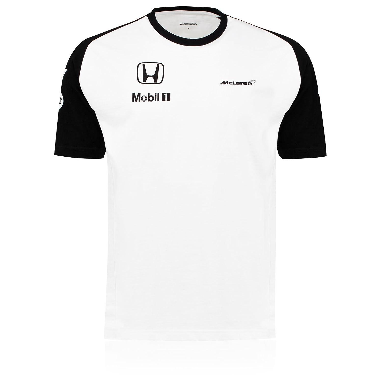McLaren Honda F1 Team Mens botón Alonso 2015 Equipo Camiseta ...