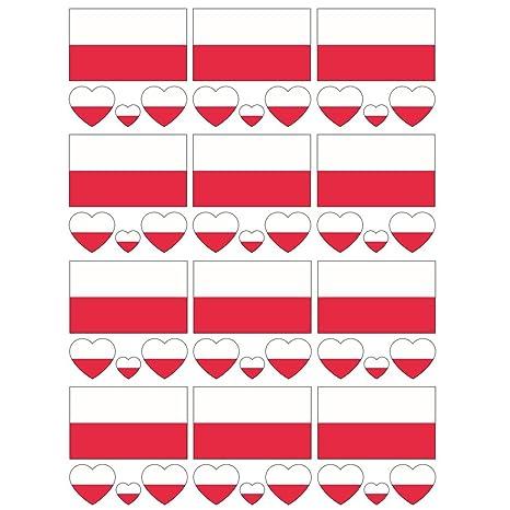 SpringPear® 12x Impermeable del Tatuaje Temporal de la Bandera de ...
