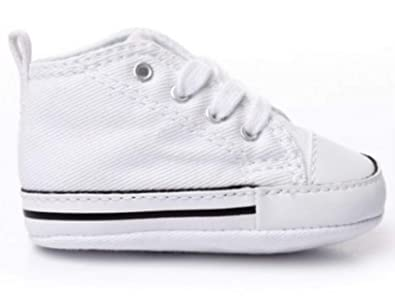 Converse Baby Chuck Taylor First Star Hi Crib White First