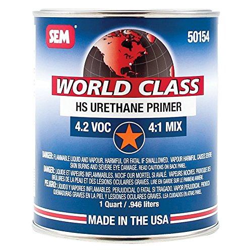 - SEM 50154 World Class HS Urethane Primer - 1 Quart