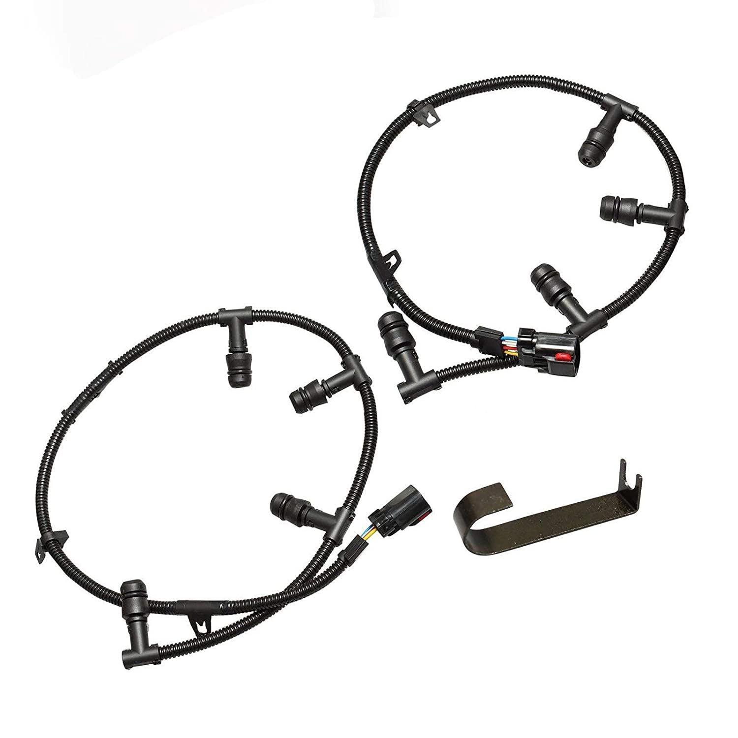 BETTERCLOUD Glow Plug Harness Right /& Left Harness Kit w//Removal Tool Fit for 2004-2010 Ford 6.0L Powerstroke Diesel