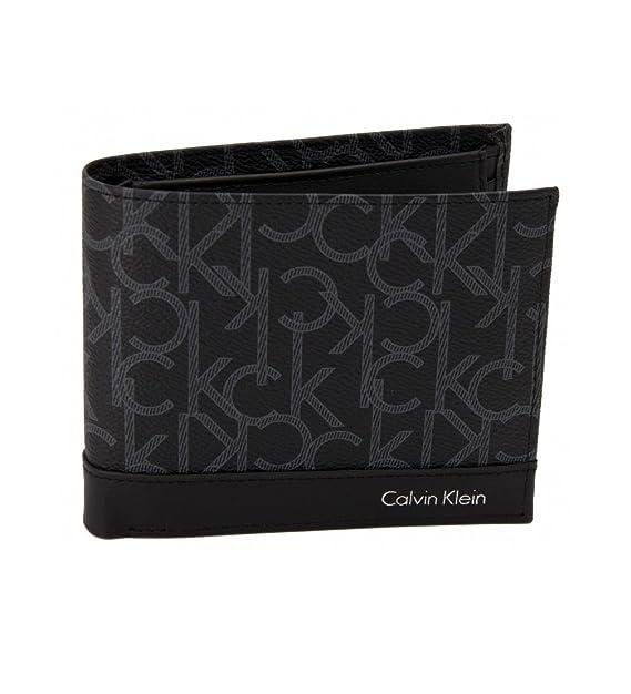 codice promozionale 0d8cd 25eac Calvin Klein Portafogli Uomo K50K503360 001 Black AI17
