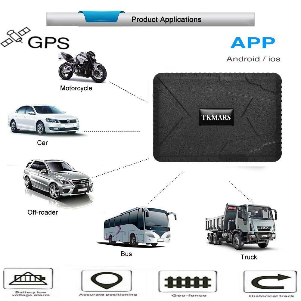 10000mAh Car Tracker, Magnetic GPS Tracker Locator Realtime Tracking Device 120 Days Long Standby No Installation TKMARS915 Changsha Hangang Technology Ltd
