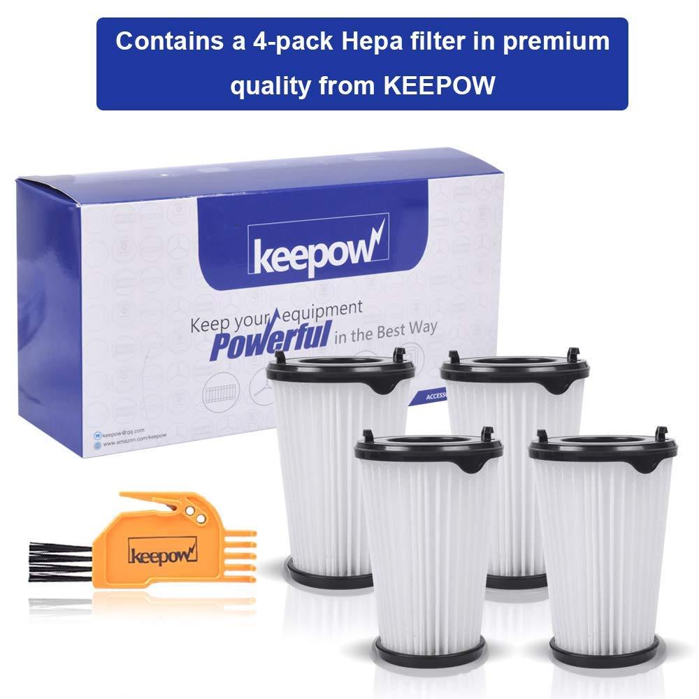 KEEPOW 4 Filtros para Aspiradora Ergorapido AEG CX7 CX7-2 para todos los modelos Pack Familiar