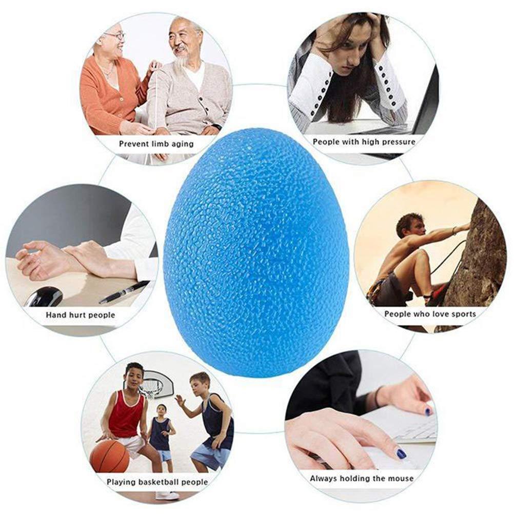 3 St/ück Trainingsb/älle Handtrainer Hand Training Egg Press Ball Yissma Handtrainer Griffb/älle