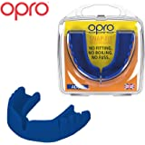 Opro Snap-Fit Mouthguard | No Boil Gum Shield for Rugby, Hockey and Combat Sports (Adult and Junior Sizes) - No Boiling or Fitting Required