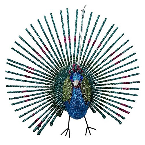 PEACOCK ORNAMENT - 5.25