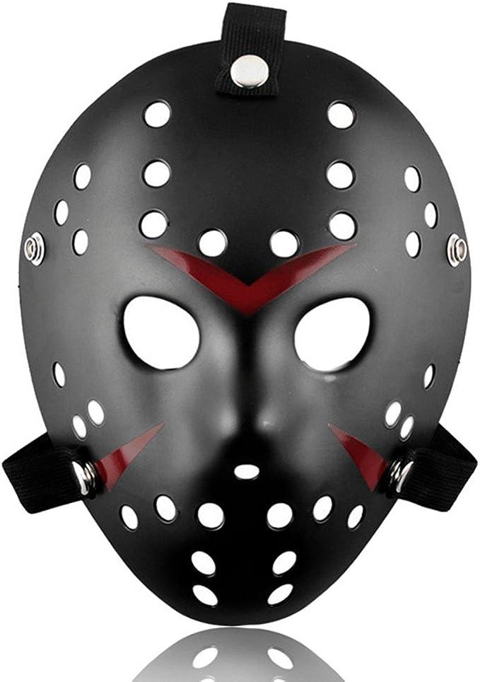 Amazon.com: Aliziway - Máscara de Jason para disfraz de ...