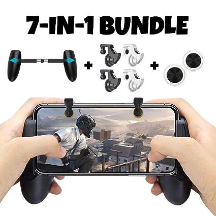 Amazon com: Mobile Game Controller Bundle for iPhone iOS 6, 6 Plus