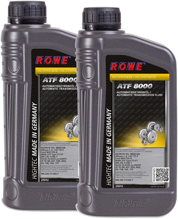 2 2x1 Liter Rowe Hightec Atf 8000 Auto