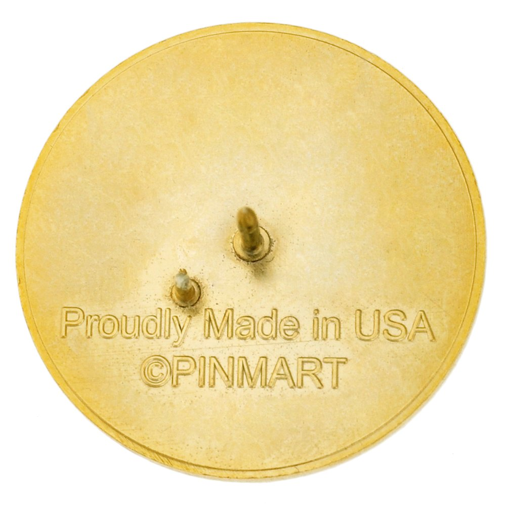PinMart's MADE IN USA American Flag Proud to be a Veteran Patriotic Lapel Pin by PinMart (Image #4)