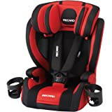 Recaro Start Jay One Rot Black RC 370.001 Junior Sheet from around 1 year old (Long use specification up to around 12 years & easy one-touch shoulder belt height adjustment)----Japan import