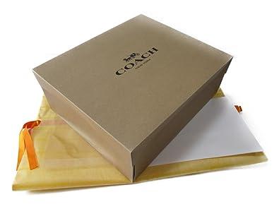 bd8eae3cc790 Amazon | [コーチ] プレゼントキット 茶箱 中(中バッグ用) Coach Gift ...
